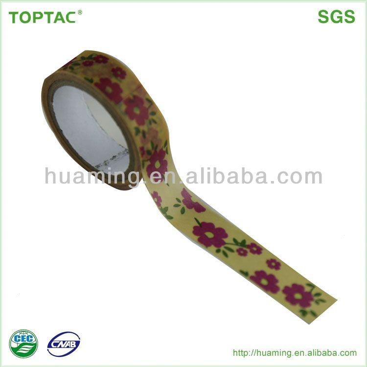 Water Soluble Adhesive Tape Paper
