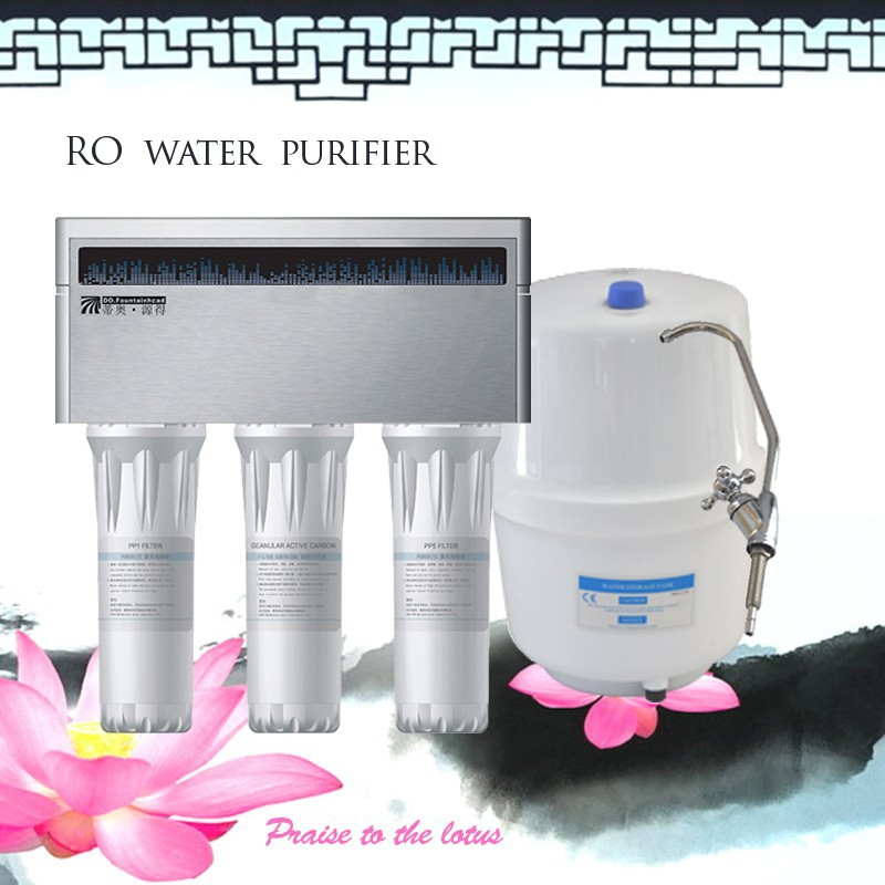 Domestic compact shower home water softener