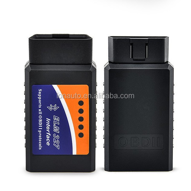 Easy Using Bluetooth2.0 OBD2 Car Scanner elm327 obd Version 2.1 obdii scan tool for android devices