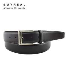 Men's Split Leather Reversible Buckle Waist Belt