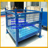 Collapsible Wire Baskets, Wire Mesh Bulk Container,Heavy Duty Collapsible Wire Crate