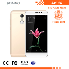 China low price OEM phone 5 inch cell phone android 7.0 4G smartphone slim unlocked smart mobile phone