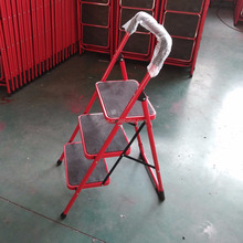 steel step ladder 3 step red/grey/white/yellow/black color to choose Pakistan market supplier