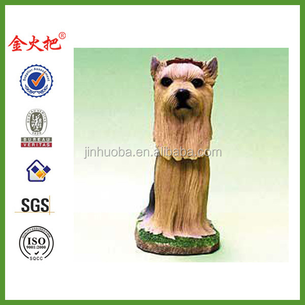 Mini Bobble Head Dog Yorkshire Terrier By Swibco