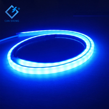 New product waterproof led neon sign 140leds/m SMD3014 led flexible neon strip IP68 Blue led swimming pool light