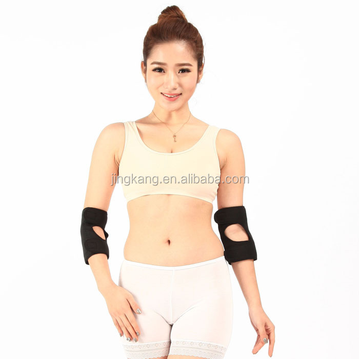 arthritis pain relief elbow brace Magnetic therapy elbow protector / brace with CE FDA