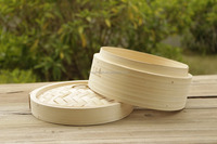Chinese bamboo dim sum steamer/round bamboo steamers