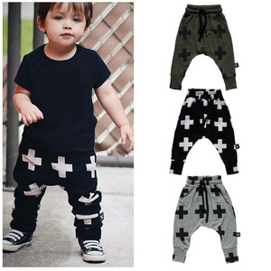New arrival Autumn pants baby casual harem pants wholesale boys pants