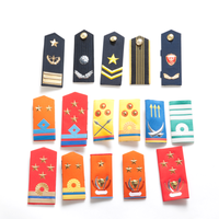 High quality military uniform epaulette shoulder boards