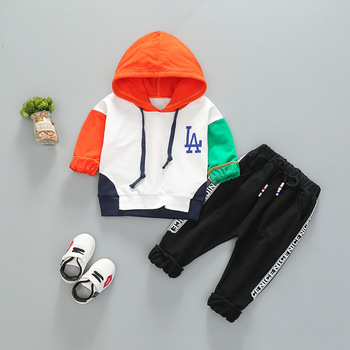 China Wholesale Autumn Clothes 2018 Children Boys Clothing Set For Kids