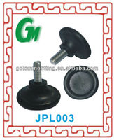 JPL003 plastic furniture glides for chairs Rubber Glides