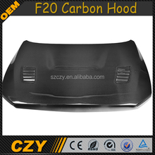 Auto Carbon Fiber 1 Series Engine Bonnet Hoods for BMW F20