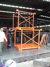 Heavy Duty Warehouse Folded Metal Storage Stack Racking