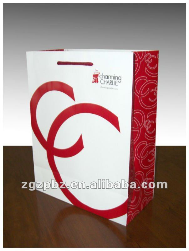 CC kraft hand carry paper bag