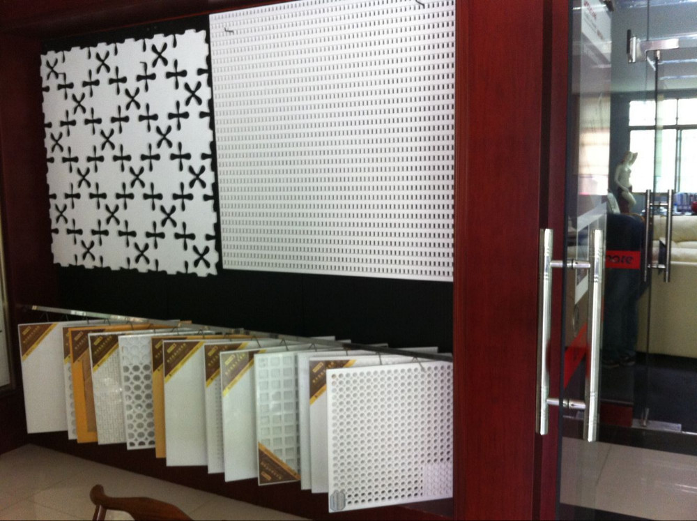 Fireproof Board Tile : Fireproof suspended ceiling tiles gypsum board factory