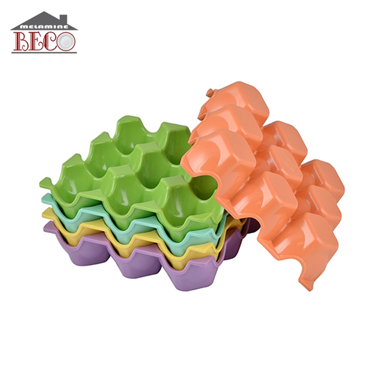Wholesale colorful soft custom plastic egg tray