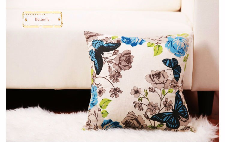 Custom Pillow Digital Print 100% digital print cushion cover -Z1