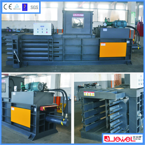 Best selling heavy duty CE approved corrugated board baler machine