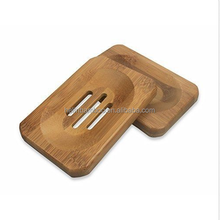 Bamboo soap holder bathroom rack