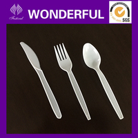 PS2800 disposable plastic spoon and fork set