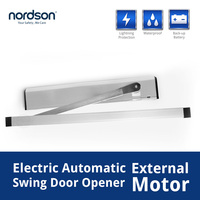 Low-power Auto-Reverse Wireless Remote Automatic Swing Door Opener with timer