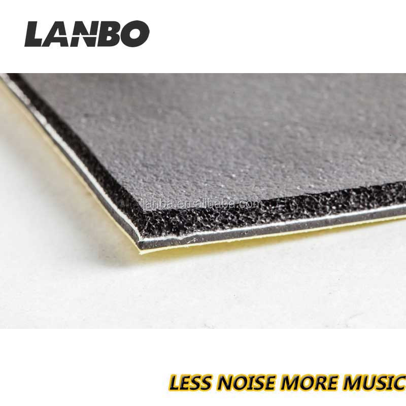 MultiLayer insulation,LANBO virbration damping mat, car sound absorber / heat insulator / anti vibration