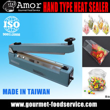 Professional 30cm Plastic Bag Hand Press Sealing Machine With Cutter
