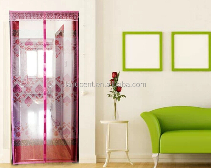 magnetic mosquito net door curtain,beaded curtain door screens