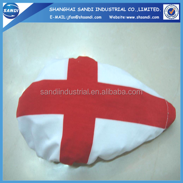 promotional advertising car wing mirror cover flag