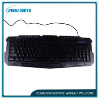 Gamer computer keyboards gaming ,h0tfc waterproof keyboard with trackball for sale