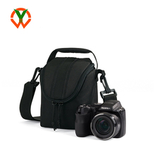 2018 Shenzhen Custom Logo Polyester Black Digital Small Camera Sling Bag
