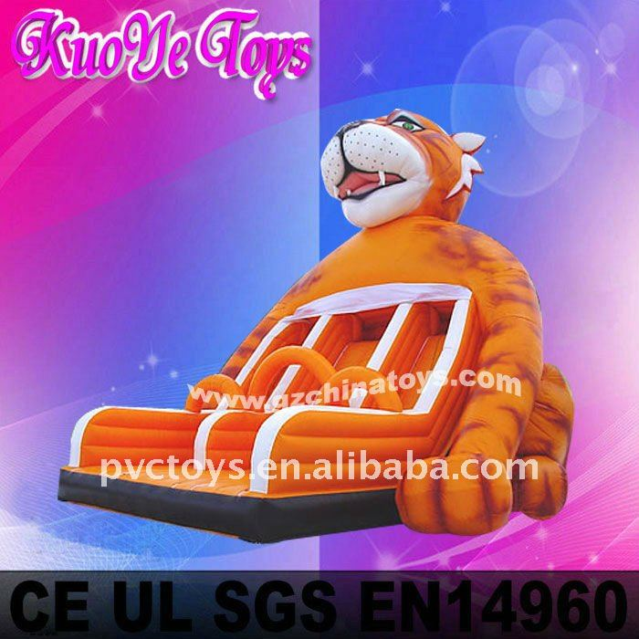 2011 tiger slide inflatable