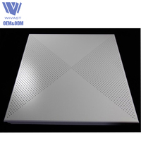 Best Selling aluminum artistic ceiling tiles, fireproof pop ceiling board