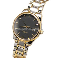 2014 new tungsten steel watch stainless steel wristwatches sports watch strap with 6 watch hands water resistant