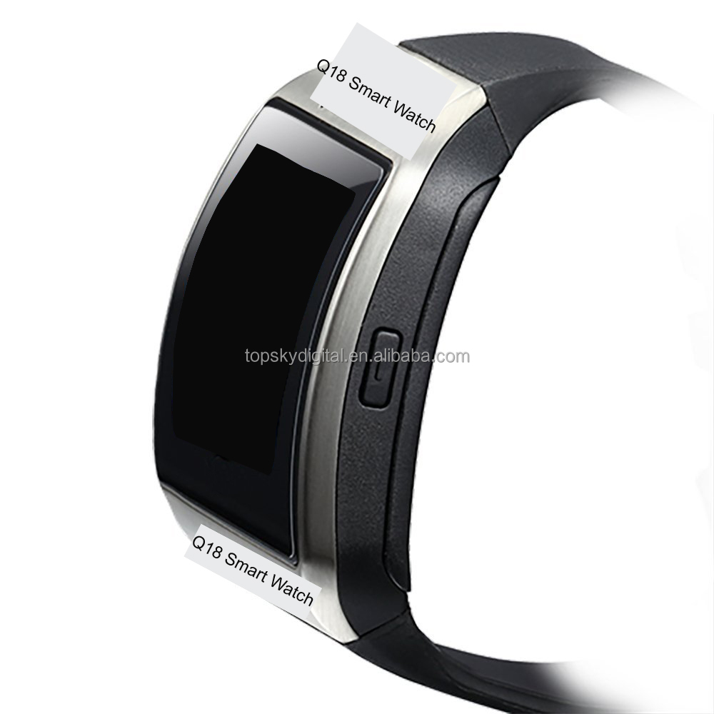 Q18 Smart watch with Touch Screen camera TF card SIM card Bluetooth smartwatch phone