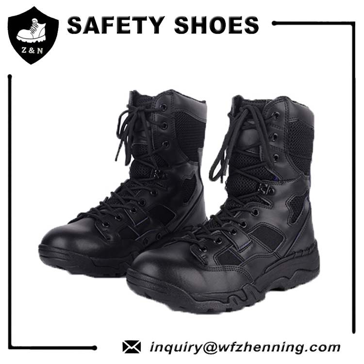 Cost effective shock absorption lightweight military 511 tactical boots for CQB
