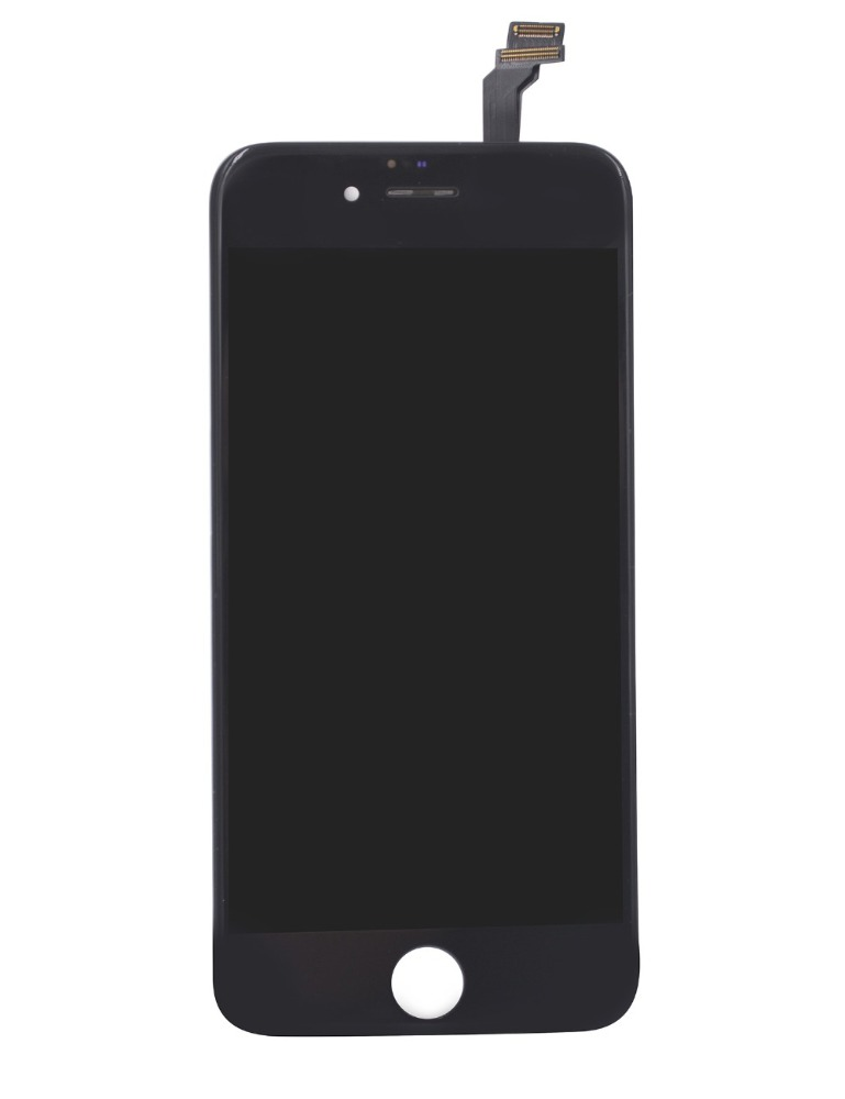 LCD Display & Touch Screen Digitizer Frame Assembly Full Set LCD Touch Screen Replacement for iPhone 6 (4.7 inch) (Black)