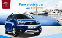 Chinese high speed lithium battery electric suv car 10kw and 5seats automotive