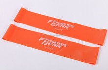 great elastic resistance loop bands with custom printed logo for promotion
