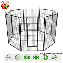 ustomize 8 10 Panel power Heavy Duty Large folding Metal Pet pay pen Dog Cat Exercise Barrier Fence Cage Playpen Kennel Yard