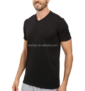 Wholesale Mens Black Training Gym T-Shirts / Sports Jogging Compression Bodybuilding wear