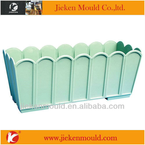 high quality plastic garden flower pot injection mould manufacturer