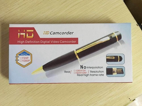 Portable Mini DV Recorder 1080P HD Hidden Spy Camera Pen