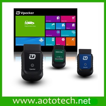 VPECKER Easydiag Wifi Wireless OBDII Full Diagnostic Tool Online Update Support OS XP- Win 10 Universal Auto OBD 2 Scan tool