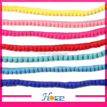 1cm width colorful sewing Pom-Pom lace trim indian fabric trim