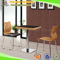 (SP-CT507) Wholesale bent wood kfc restaurant chair cafe furniture