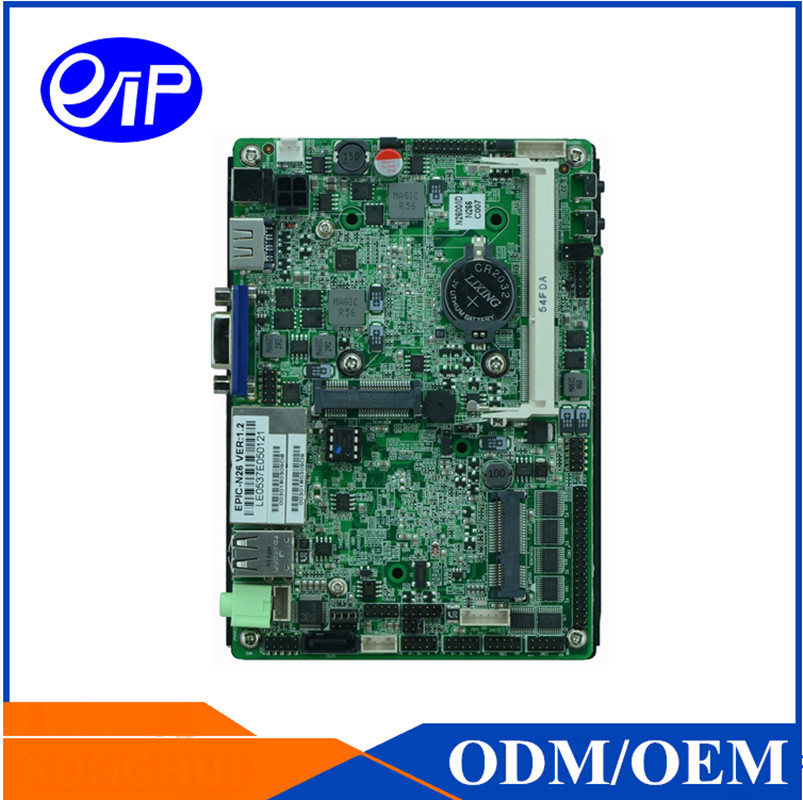 3.5 inch EPIC-N26 Embedded Industrial Motherboard With Intel Atom N2600 Low Consumption Power Industrial Mini-ITX/NANO Motherboa