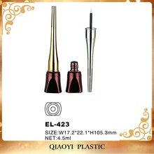 plastic cosmetic eyeliner packaging , liquid eyeliner container