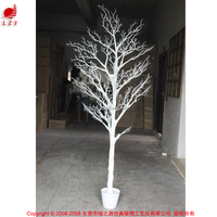 High quality PU artificial coral tree white dry tree branch for wedding table centerpieces
