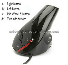 High quality usb mouse Wired optical mouse thumb computer mouse